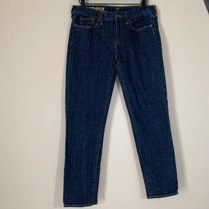 J. Crew | Toothpick Cropped Skinny Stretch Jeans